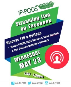 PPODS livestream college poster