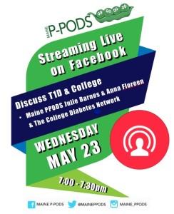 PPODS livestream college poster